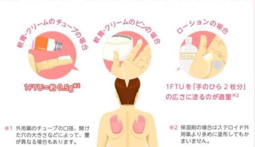 【皮膚科で処方された薬の塗り方!】